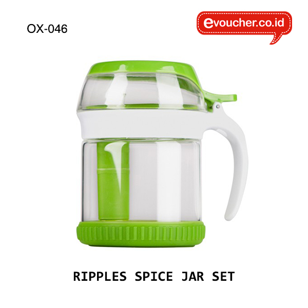 OX-046, RIPPLES SPICE JAR SET