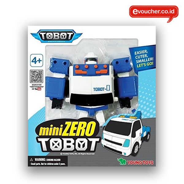 TOBOT MINI ZERO ORIGINAL - TRANSFORMING ROBOT