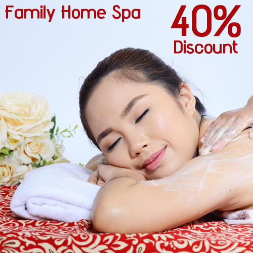 Get 40%off Treatment at Healthy First Family Home Spa! Therapist akan langsung ke Rumah Anda !