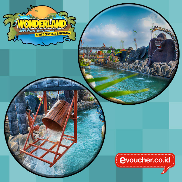 DISKON 42% ! Berenang di Wonderland Adventure Waterpark Karawang berlaku All Days