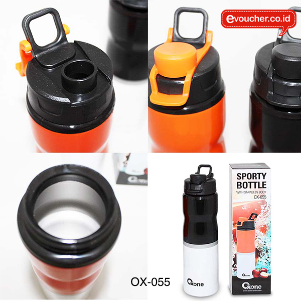 OX-055, Sport Bottle Oxone with Stainless Body 750 ml