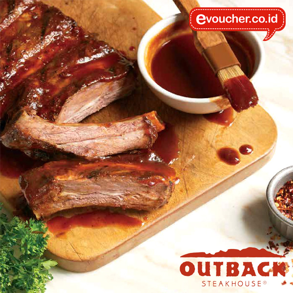 Voucher Fisik Outback Steakhouse Rp. 110.000 worth for Rp. 200.000