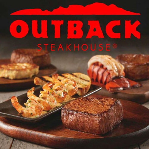 Voucher Fisik Outback Steakhouse Rp. 115.000 worth for Rp. 200.000