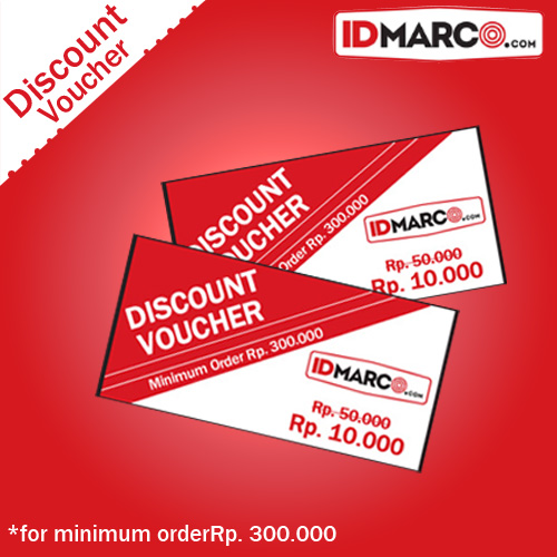 Discount Voucher Shop at IDmarco.com, Rp. 10.000 worth for Rp. 50.000 !