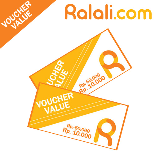 Voucher Value at Ralali.com ! Rp. 10.000 worth for Rp. 50.000. for All Items