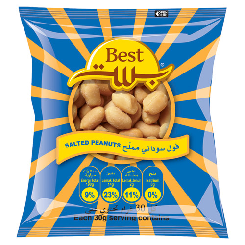 Best Salted Peanut 150 Gr (pouch)
