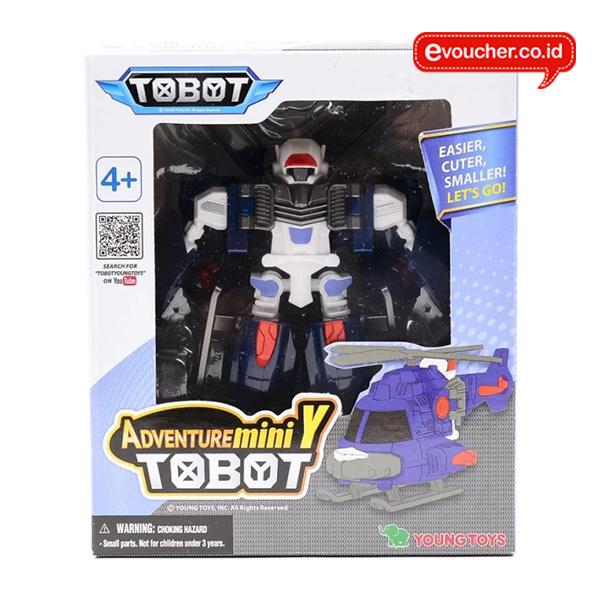 TOBOT MINI ADVENTURE Y ORIGINAL - TRANSFORMER ROBOT