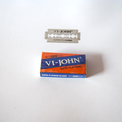 Vi John Super Platinum Coated Blades