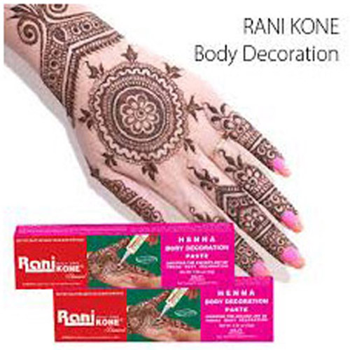 Henna Rani Kone Body Decoration-18 dan 30 gr