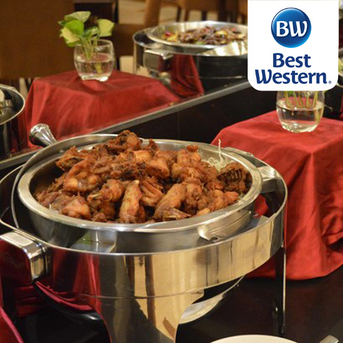 All You Can Eat Buffet Lunch at BEST WESTERN Mangga Dua, Buy 10 Get 1 FREE